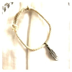 3/$12 Feather Cord Bracelet